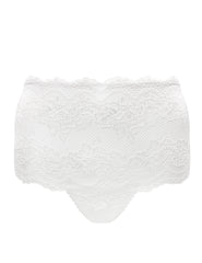 High Waist White Lace Knickers | Mimi Holliday Designer Bridal Lingerie