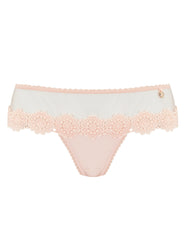 Fersken Blonde Blonde Boyshort Knickers | Mimi Holliday Luksus Undertøj