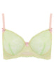 Reggiseno in pizzo verde e pesca | Mimi Holliday Luxury Lingerie