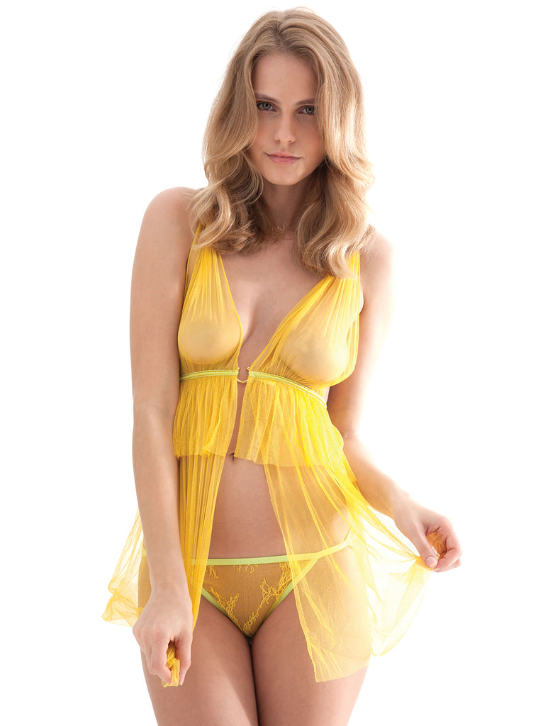 The Alectrona BabyDoll | Damaris Luxury Lingerie