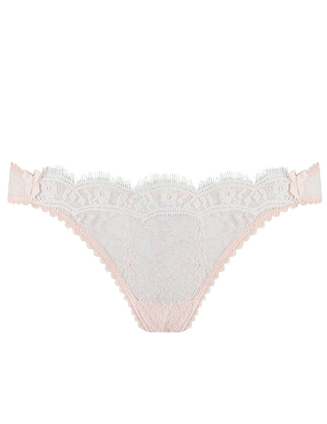 Pink Lace Sexy Brief Knickers | Mimi Holliday Designer Lingerie