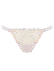 Nude Lace Stars Hipster Knickers | Mimi Holliday Designer Undertøy