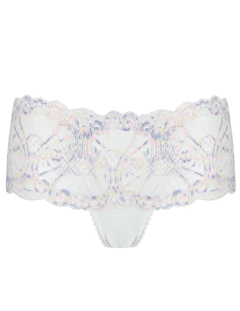 White Lace High Waisted Knickers | Mimi Holliday Luksus Undertøj