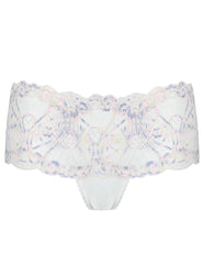 White Blonde High Waisted Knickers | Mimi Holliday Luxury Lingerie