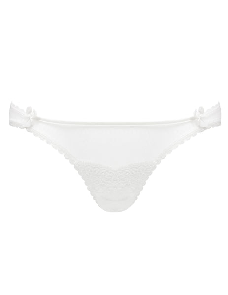 Weiße Bridal Lace Knickers | Mimi Holliday Designer Dessous