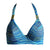 Spirit Dancer Bikini Top - Blaue Welle - von West Seventy Nine