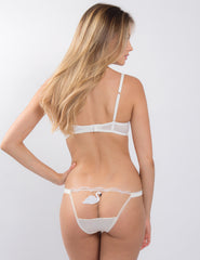 Swan Lake White Comfort Bra | Mimi Holliday Sexy Lingerie