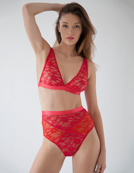 Scarlet Whisk Triangle Bra