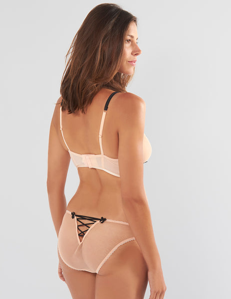 Bisou Zoo Nude Corset Knickers | Mimi Holliday Sexy Lingerie