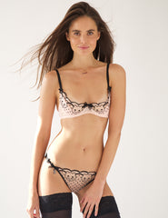 Kitty Galore Ouvertin Demi Cup Bra