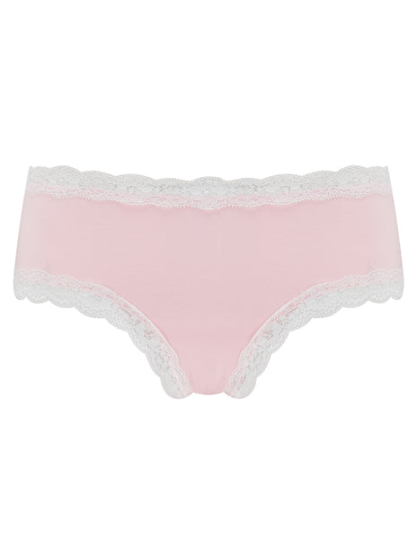 Rosa Baumwolle Mutterschaft Knickers | Mimi Holliday Luxus Dessous