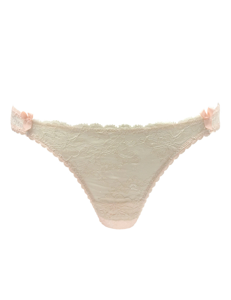 Nude Lace Thong | Mimi Holliday Designer Dessous