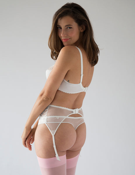 Lys Royal White Osynlig Thong