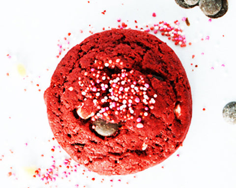 Red Velvet Choc Chip Cookie