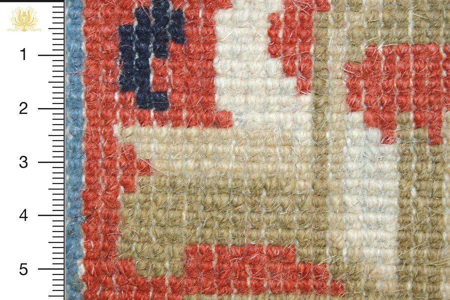 China 213x152 closeup on knots from behind