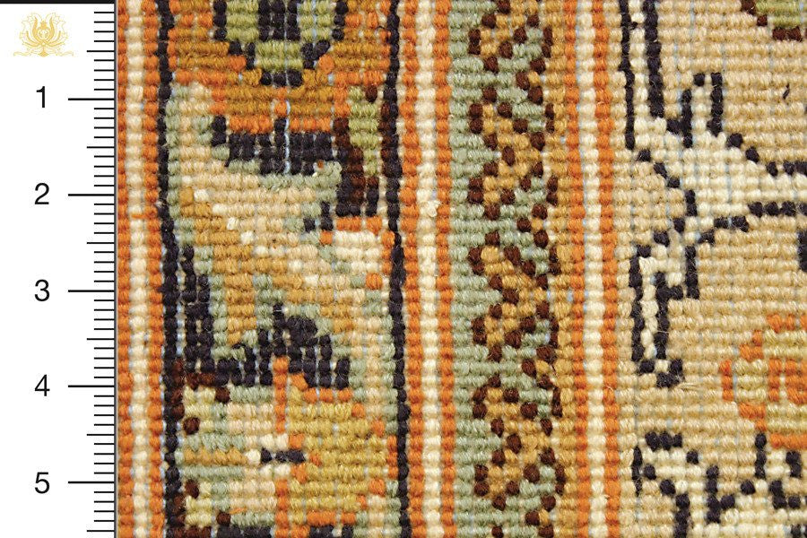Kashmir 252x171 closeup on knots from behind