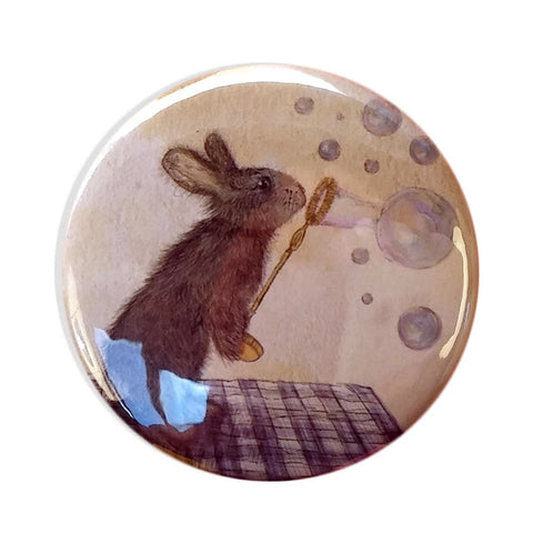 Norman the Rabbit Pocket Mirror | Fawn and Thistle  | Bloomsbury Store