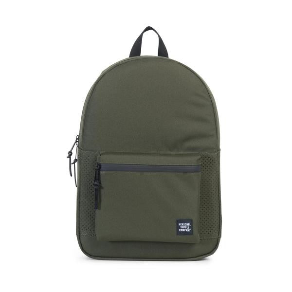 Settlement Forest Night/Black Rubber Backpack | Herschel  | Bloomsbury Store - 1