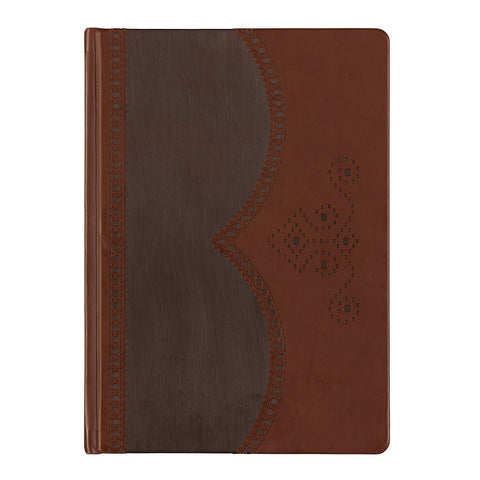 Ted Baker Large Brown Brogue Notebook | Wild & Wolf -  Bloomsbury Store - 1