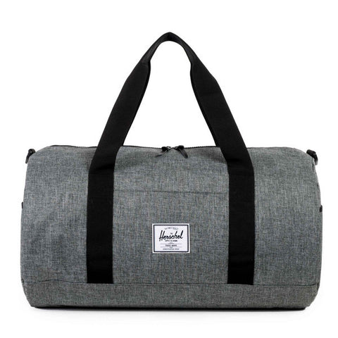 Sutton Raven Crosshatch Duffle Bag | Herschel -  Bloomsbury Store - 1