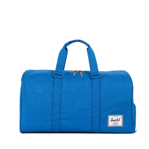Novel Cobalt Crosshatch Duffle Bag | Herschel -  Bloomsbury Store - 1