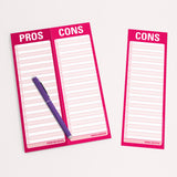 Pros and Cons Notepad | Knock Knock -  Bloomsbury Store - 4
