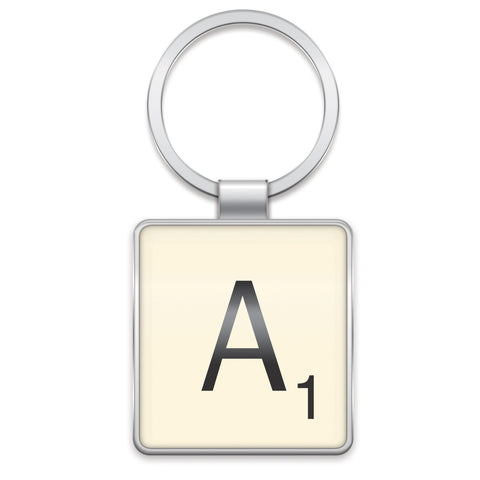 Scrabble Keyring A | Wild and Wolf -  Bloomsbury Store