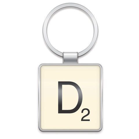 Scrabble Keyring D | Wild and Wolf -  Bloomsbury Store