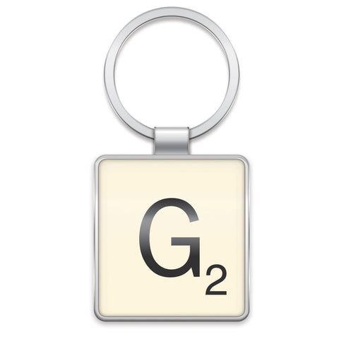 Scrabble Keyring G | Wild and Wolf -  Bloomsbury Store