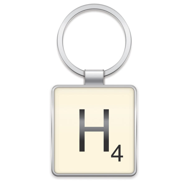Scrabble Keyring H | Wild and Wolf -  Bloomsbury Store