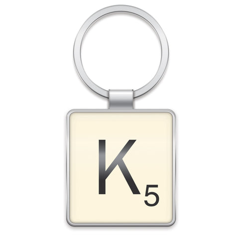 Scrabble Keyring K | Wild and Wolf -  Bloomsbury Store