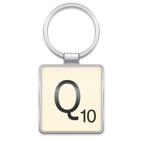 Scrabble Keyring Q | Wild and Wolf -  Bloomsbury Store