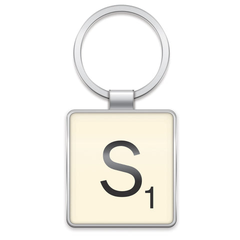 Scrabble Keyring S | Wild and Wolf -  Bloomsbury Store
