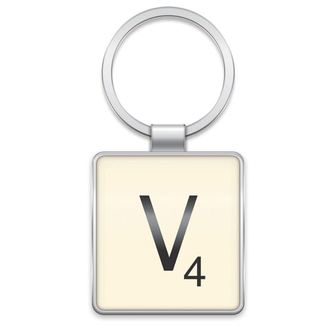 Scrabble Keyring V | Wild and Wolf -  Bloomsbury Store