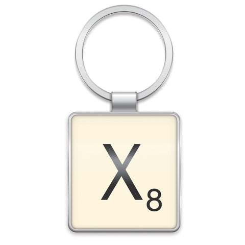 Scrabble Keyring X | Wild and Wolf -  Bloomsbury Store