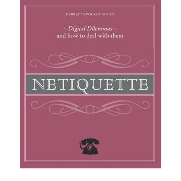 Netiquette Debretts's Pocket Guide | Book -  Bloomsbury Store