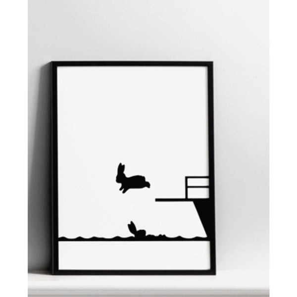 Ham Print | Diving Rabbit -  Bloomsbury Store