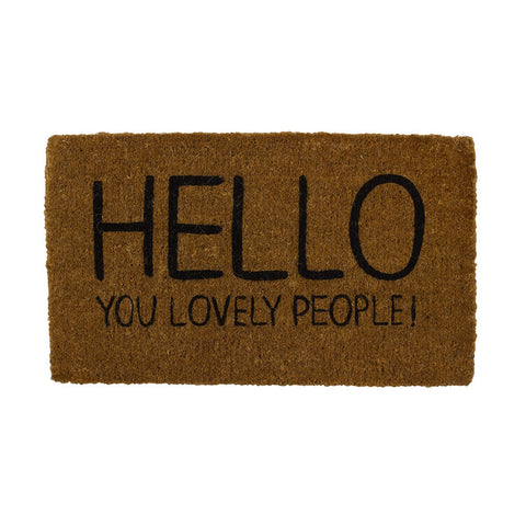 Happy Jackson Doormat -  Bloomsbury Store