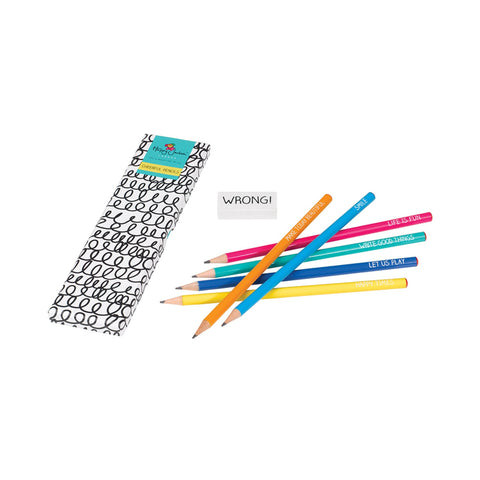 Happy Jackson Pencil Set -  Bloomsbury Store - 1