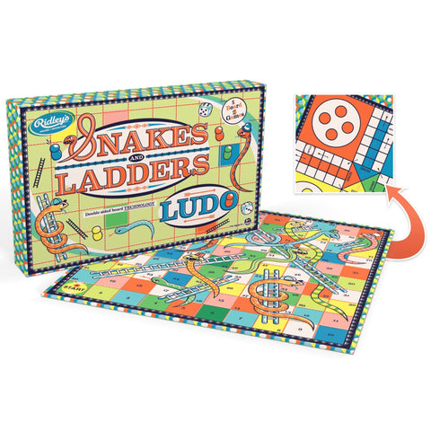 Ridley's Kaleidoscope Snakes & Ladders / Ludo Game | Wild and Wolf -  Bloomsbury Store