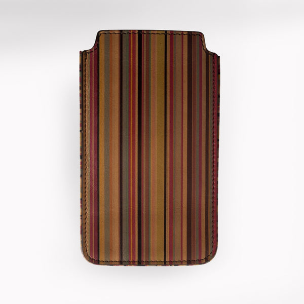 Paul Smith Accessories | Vintage Stripe iPhone Slip Case -  Bloomsbury Store - 1