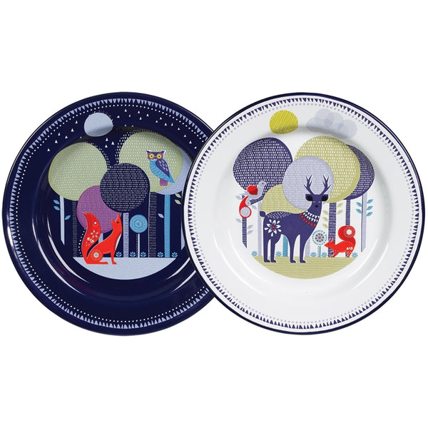 Folklore Set of Two Plates | Wild and Wolf -  Bloomsbury Store - 1