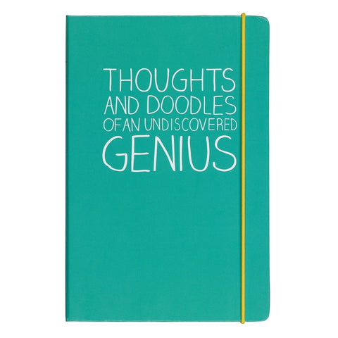 Happy Jackson Thoughts & Doodles A5 Notebook | Wild and Wolf -  Bloomsbury Store - 1