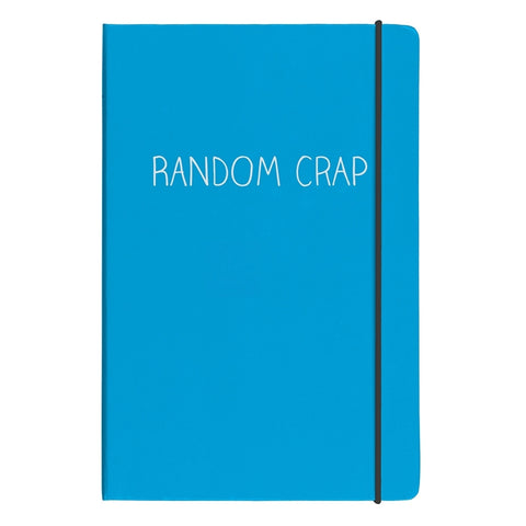 Happy Jackson Random Crap A5 Notebook | Wild and Wolf -  Bloomsbury Store - 1
