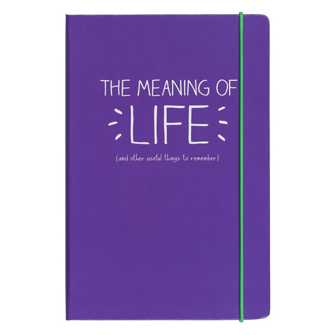 Happy Jackson Meaning of Life A5 Notebook | Wild and Wolf -  Bloomsbury Store - 1
