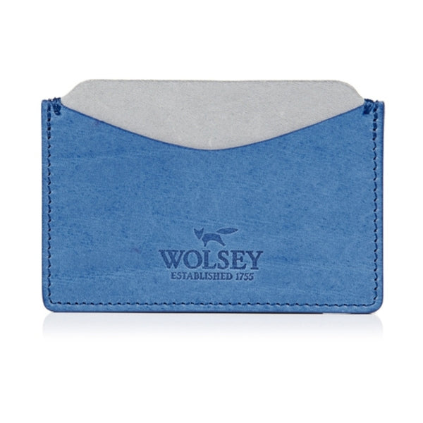 Wolsey Pinkman Card Holder | Blue -  Bloomsbury Store - 1