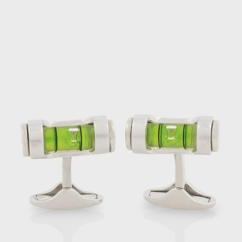 Paul Smith Accessories | Spirit Level Cufflinks -  Bloomsbury Store - 1