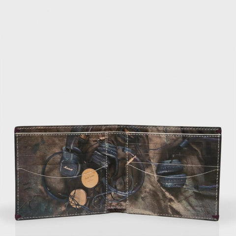 Paul Smith Accessories | Headphones Print Wallet -  Bloomsbury Store - 1