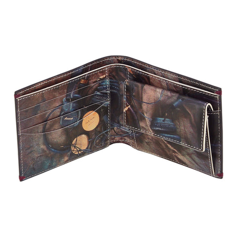 Paul Smith Accessories | Headphones Print Wallet with Coin Pouch -  Bloomsbury Store - 1
