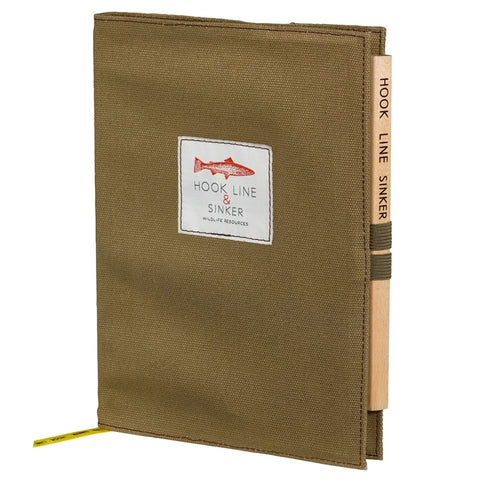 Hook Line and Sinker Notebook with Pencil | Wild & Wolf -  Bloomsbury Store - 1